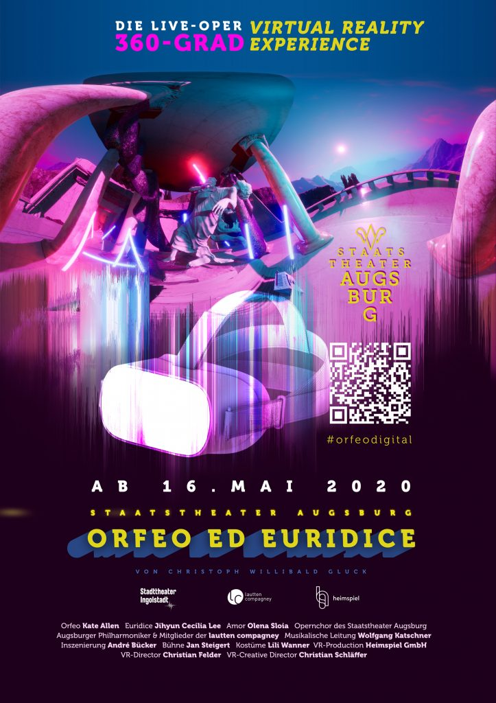 Virtual Reality Oper - Orpheo ed Euridice