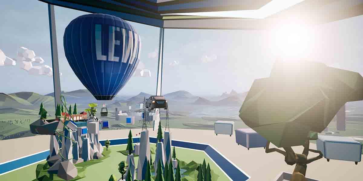 VR-Spiel – Lechwerke AG